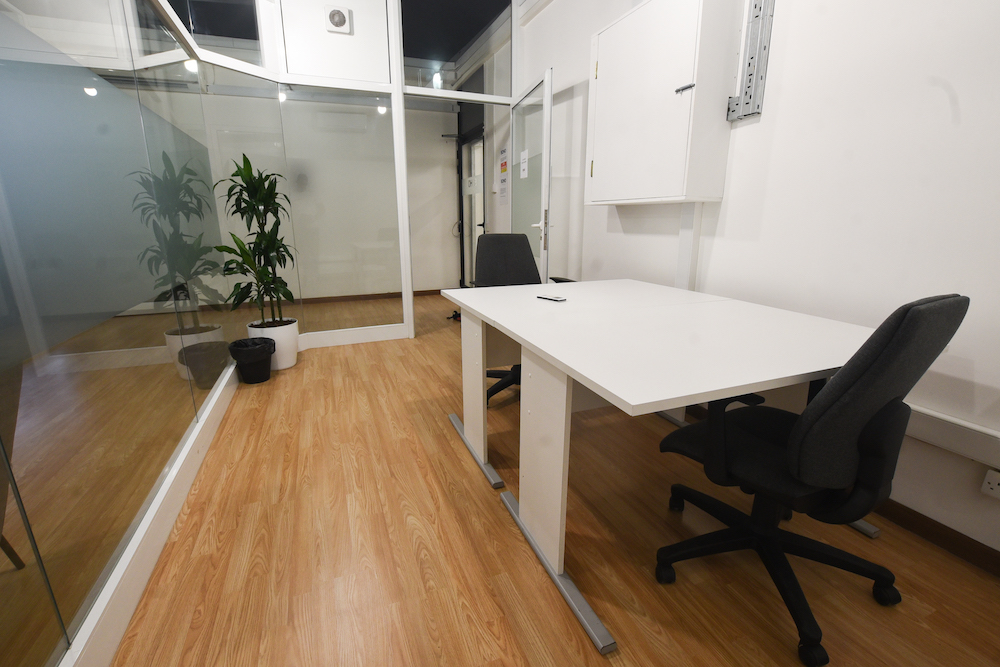 two work places in a private Office in St Julian`s