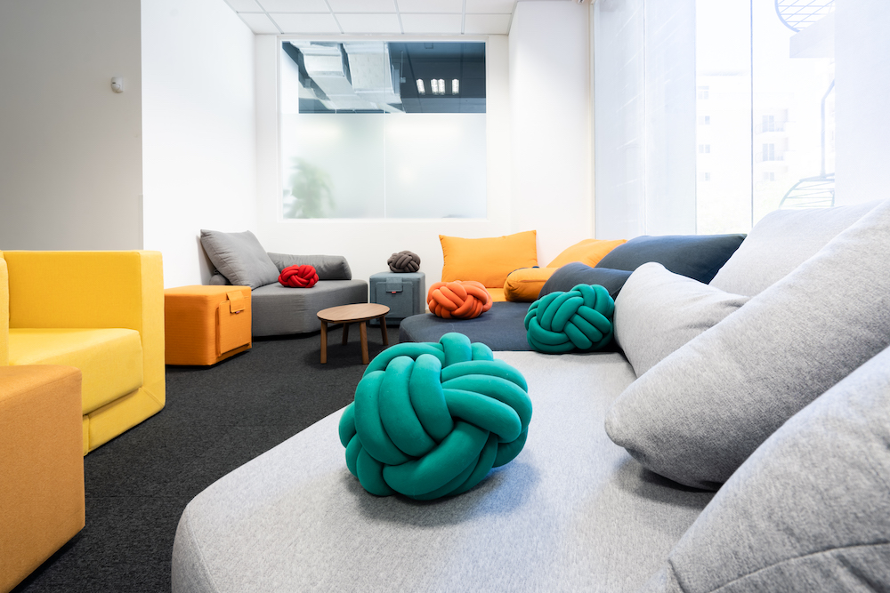 sofas and bean bags in Savoy